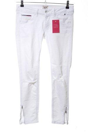 Hilfiger Denim Slim Jeans weiß Casual-Look
