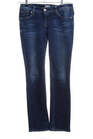 Hilfiger Denim Slim Jeans blau Casual-Look