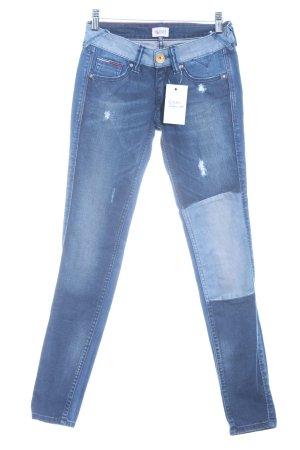 Hilfiger Denim Slim Jeans dunkelblau-blassblau Casual-Look