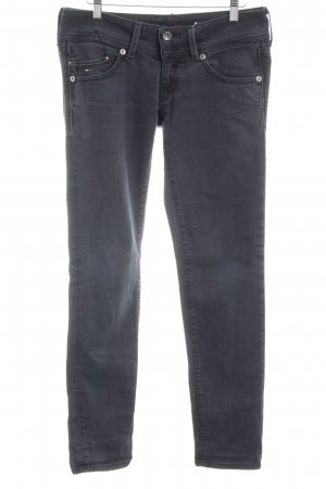 Hilfiger Denim Slim Jeans dunkelgrau Jeans-Optik