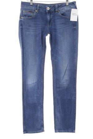 Hilfiger Denim Slim Jeans stahlblau Casual-Look