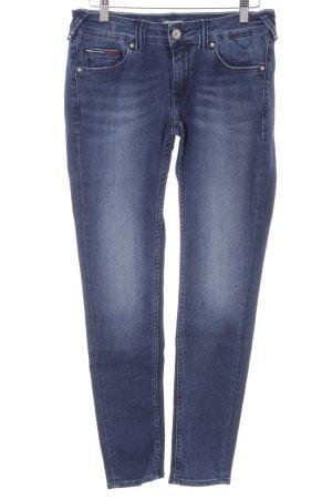 Hilfiger Denim Slim Jeans stahlblau-dunkelblau Casual-Look