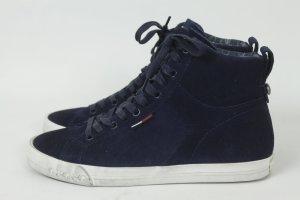 Hilfiger Denim Sneaker Gr. 37 blau Wildleder