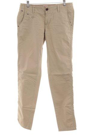 Hilfiger Denim Pantalon en jersey beige clair style décontracté
