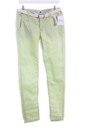 Hilfiger Denim Pantalon en jersey vert prairie style décontracté
