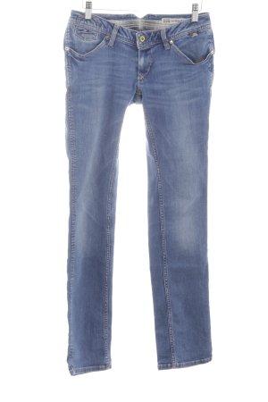 Hilfiger Denim Straight-Leg Jeans blau Casual-Look