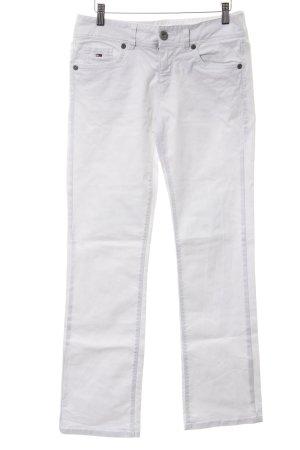 Hilfiger Denim Straight-Leg Jeans weiß Casual-Look