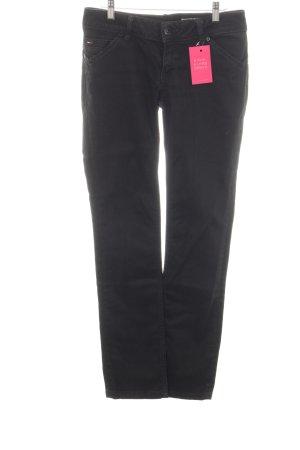 """Hilfiger Denim Straight-Leg Jeans """"Victorioa Straight"""" schwarz"""