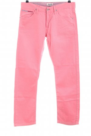 Hilfiger Denim Straight-Leg Jeans pink Casual-Look
