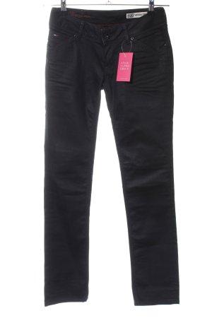 """Hilfiger Denim Straight-Leg Jeans """"Victoria Straight"""" schwarz"""