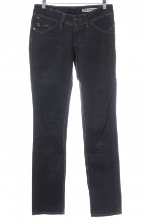 Hilfiger Denim Straight-Leg Jeans anthrazit Casual-Look