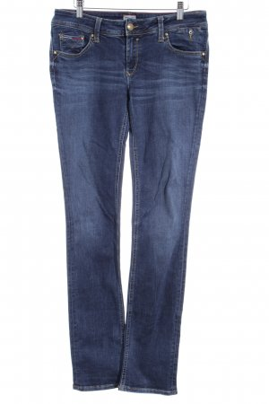Hilfiger Denim Straight-Leg Jeans blau Casual-Look