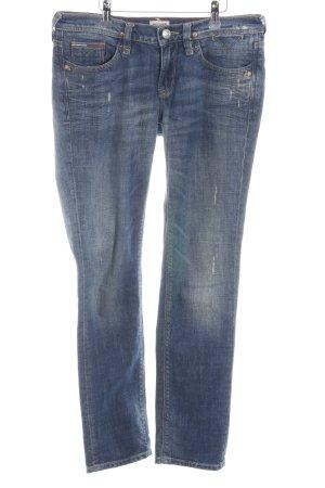Hilfiger Denim Straight-Leg Jeans blau-dunkelblau Casual-Look