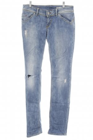 Hilfiger Denim Straight-Leg Jeans blau-graublau Casual-Look