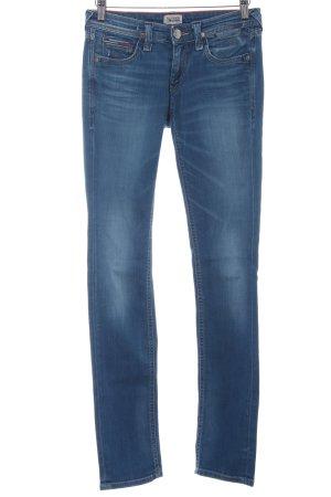 Hilfiger Denim Straight-Leg Jeans blau-kornblumenblau Casual-Look