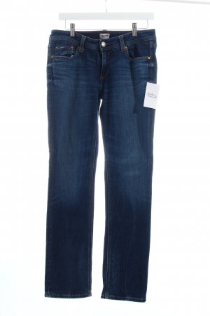 Hilfiger Denim Straight-Leg Jeans dunkelblau Casual-Look