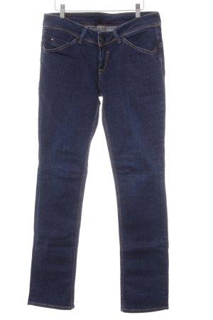 Hilfiger Denim Straight-Leg Jeans dunkelblau Casual-Look