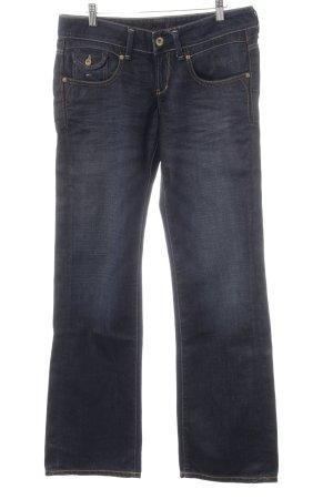Hilfiger Denim Straight-Leg Jeans dunkelblau-graublau Casual-Look