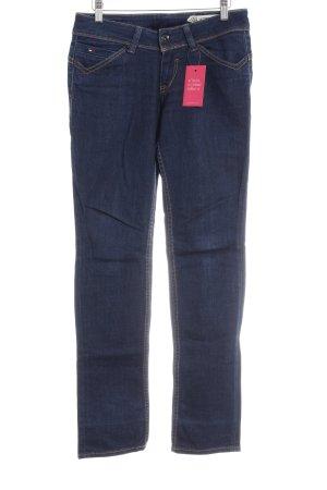 Hilfiger Denim Straight-Leg Jeans dunkelblau schlichter Stil