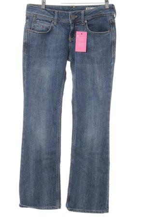 Hilfiger Denim Straight-Leg Jeans dunkelblau-stahlblau Casual-Look