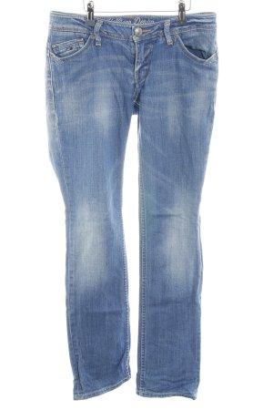 Hilfiger Denim Straight-Leg Jeans Farbverlauf Jeans-Optik