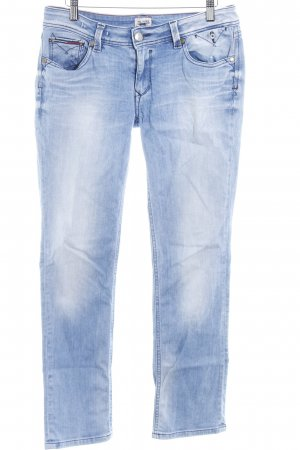 Hilfiger Denim Jeans a gamba dritta azzurro stile casual