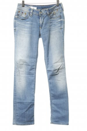 Hilfiger Denim Straight-Leg Jeans himmelblau Casual-Look