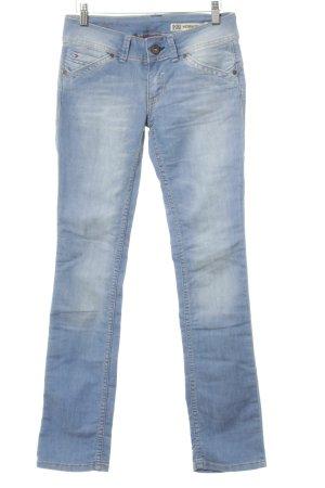 Hilfiger Denim Straight-Leg Jeans himmelblau-kornblumenblau Casual-Look