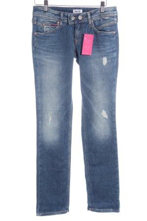 Hilfiger Denim Straight-Leg Jeans kornblumenblau Casual-Look