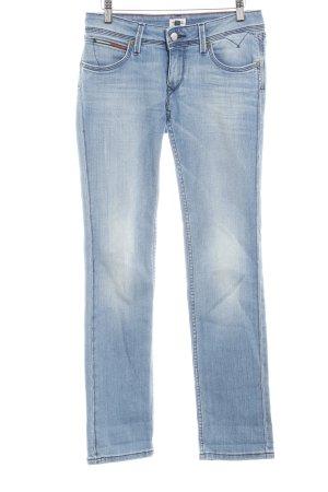 Hilfiger Denim Straight-Leg Jeans mehrfarbig Used-Optik