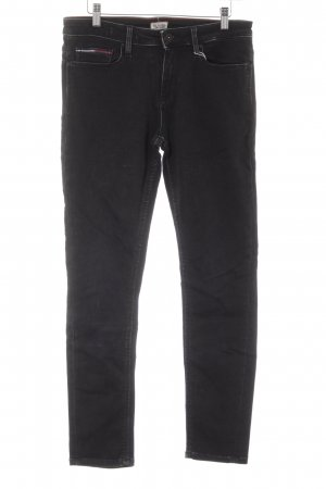 Hilfiger Denim Straight-Leg Jeans schwarz Casual-Look