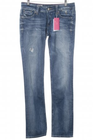 Hilfiger Denim Straight-Leg Jeans stahlblau Casual-Look