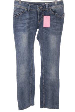 Hilfiger Denim Straight-Leg Jeans stahlblau Casual-Look