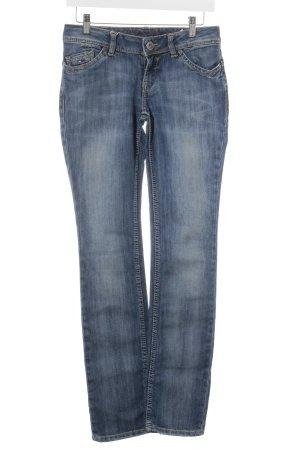 "Hilfiger Denim Straight-Leg Jeans ""Victoria "" stahlblau"
