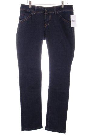 "Hilfiger Denim Straight-Leg Jeans ""Victoria Straight"" dunkelblau"