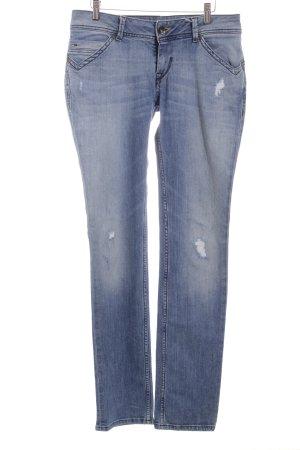 """Hilfiger Denim Straight-Leg Jeans """"Victoria Straight"""" hellblau"""