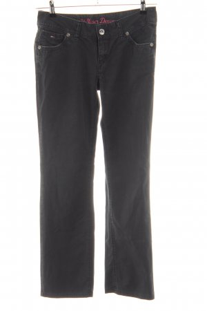 Hilfiger Denim Stretch Jeans schwarz Casual-Look