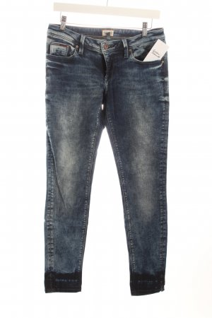 Hilfiger Denim Stretch Jeans dunkelblau Washed-Optik