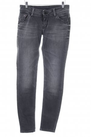 Hilfiger Denim Stretch Jeans grau-hellgrau Casual-Look