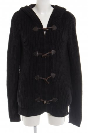 Hilfiger Denim Strickjacke schwarz Casual-Look