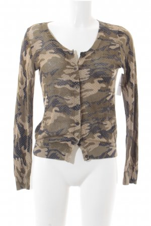 Hilfiger Denim Strickjacke Camouflagemuster Casual-Look