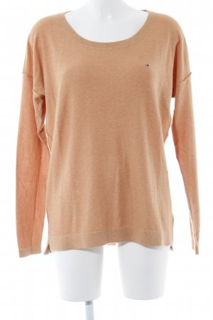 Hilfiger Denim Strickpullover apricot Casual-Look