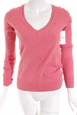 Hilfiger Denim Strickpullover rosa Casual-Look