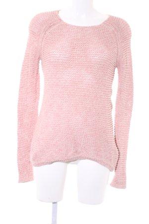 Hilfiger Denim Strickpullover rosa-wollweiß Casual-Look