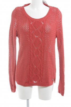 Hilfiger Denim Strickpullover rot Casual-Look