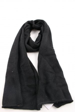 Hilfiger Denim Knitted Scarf black casual look