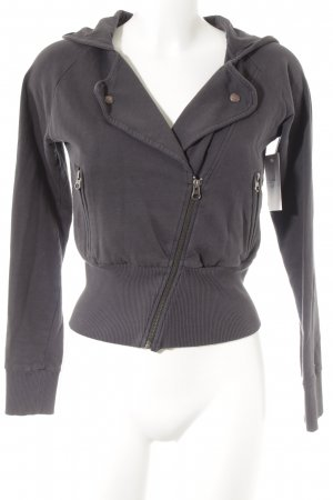 Hilfiger Denim Sweatjacke anthrazit Casual-Look