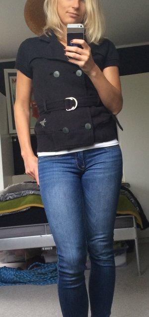 Hilfiger Denim Sweatjacke/-blazer, schwarz