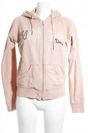 Hilfiger Denim Sweatjacke rosa Casual-Look