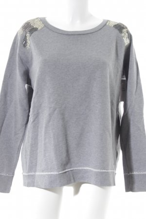 Hilfiger Denim Sweatshirt hellgrau Casual-Look